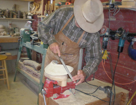 Shaping Cantle