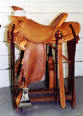 Buck Brannaman Saddle