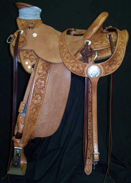 Kip Fladland Saddle - made by Dave Rigby