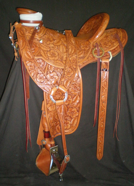 Kip Fladland Saddle - made by Kent Frecker
