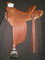 Full Hamley Daisy Wade Saddle