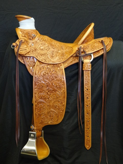 Buck Brannaman Saddle made by Kent Frecker