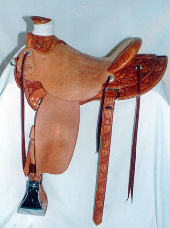 Ray Hunt Saddle