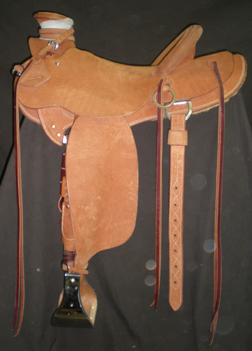 """The Wade"" Roughout Saddle"