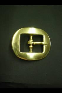 132 Cart Buckles Brass