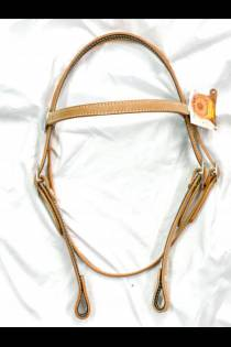 3/4 Headstall Smooth or Roughout