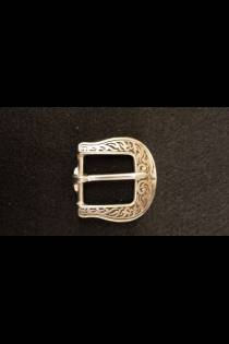 4005 Floral Buckle Black Inlay JWP