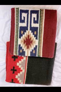 "Weave Design Saddle Blanket 36""x34"""