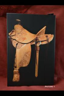 Canvas Saddle Picture