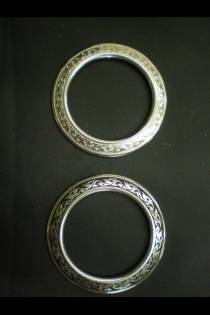 4185 Floral Breast Collar Ring JWP