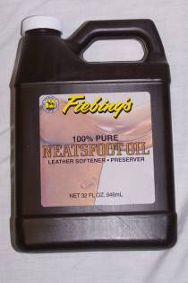 100% Pure Neatsfoot Oil - 32 oz.