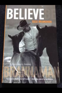 Believe Buck Brannaman Book