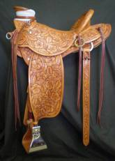 Full tooled Wade made by Kent Frecker for Kip Fladland