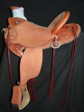 1/4 Tooled Kid's Saddle