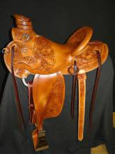 Saddle made for Peter Overly by Kent Frecker