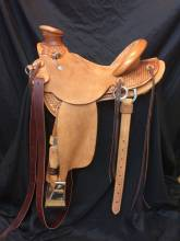 1/4 Tooled Saddles