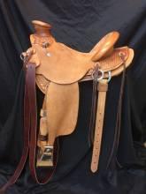 1/4 Tooled Saddles