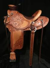 3/4 Tooled Saddles