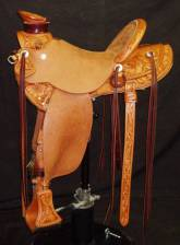 Wade, 1/2 Breed, Inskirt Rigging, Hibiscus Flowers, Sent to Hawaii. Made by Kent Frecker