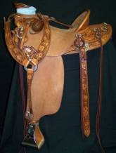 Half breed Wade with Rose tooling. Made by David Rigby.
