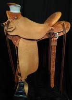 The Buck Brannaman Saddle