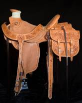 1/2 Tooled Saddles