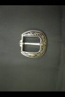 4000 Floral Buckle w/ Black Inlay JWP