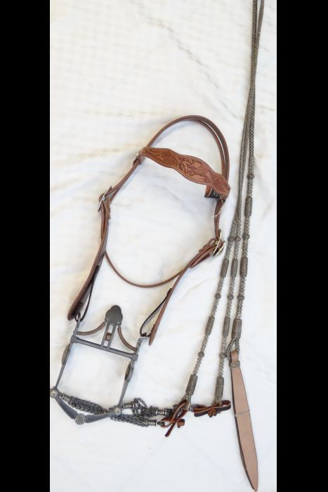 Browband Bridle Set with Mincer Buckles