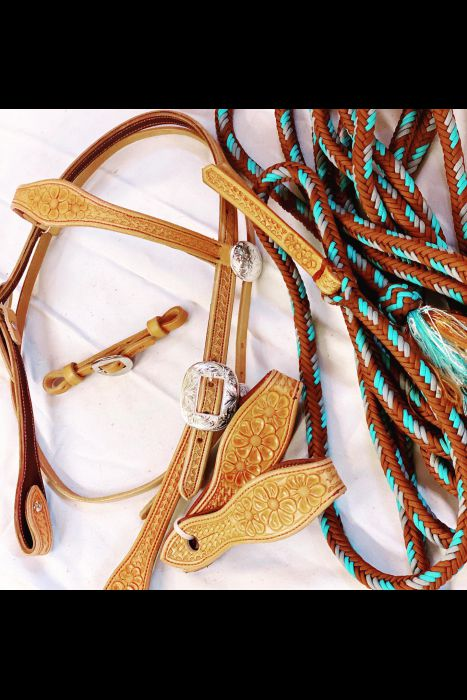Buttercup Bridle Set | Another View
