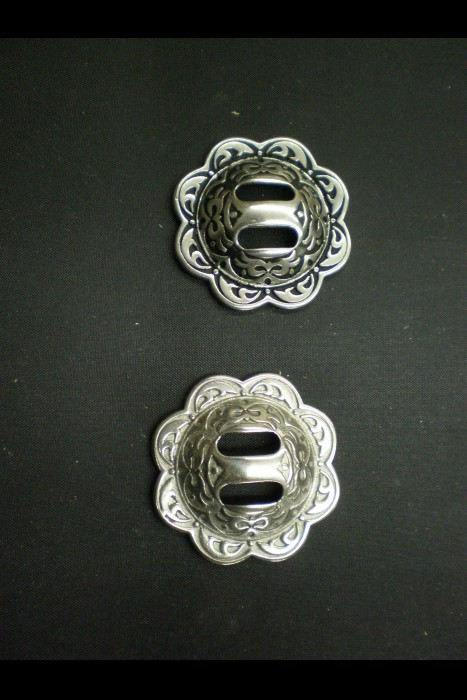 4200 Floral Slotted Conchos JWP