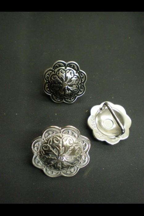 4205 Floral Concho w/ Loop JWP