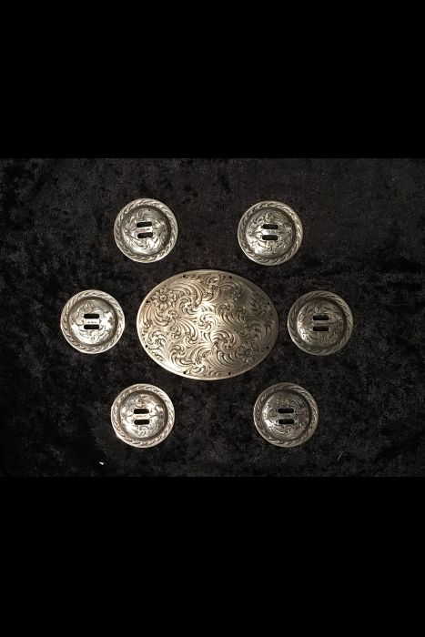 Robert Schaezlein Cantle Plate and Conchos