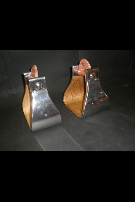 Stirrups made by Bucky Johnson