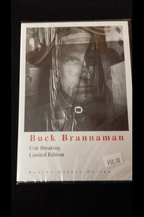 """Colt Breaking"" Buck Brannaman DVD"