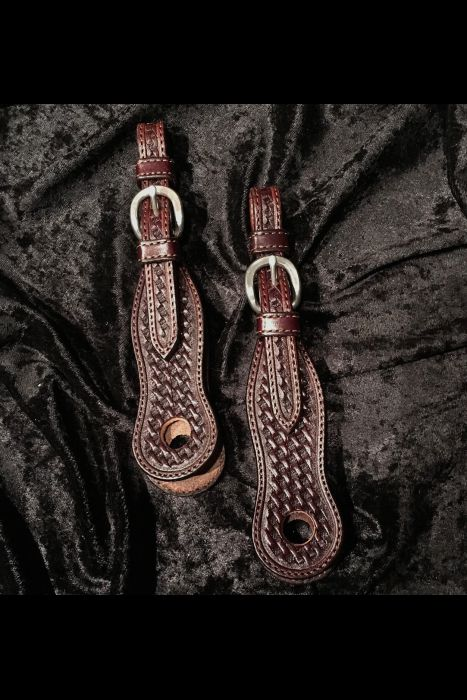Dark Brown Slobber Straps