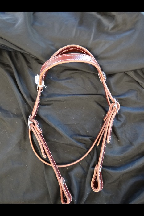 5/8 or 3/4 browband latigo Headstall