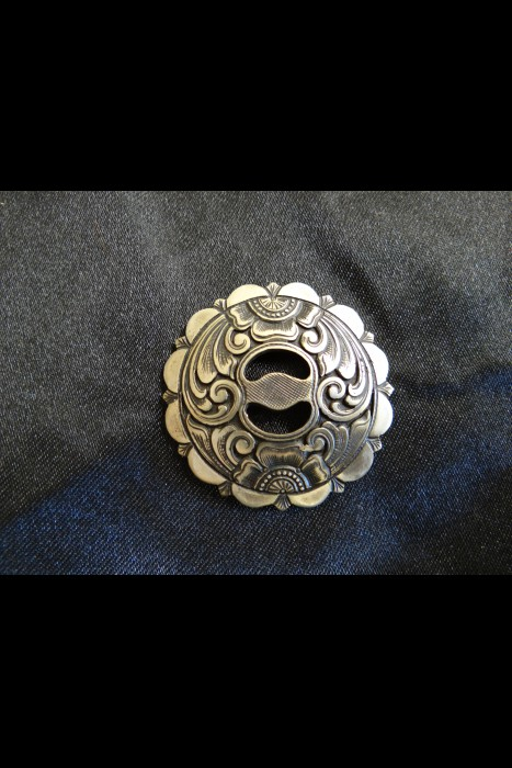 Mincer Slotted Scalloped edge Conchos | Another View