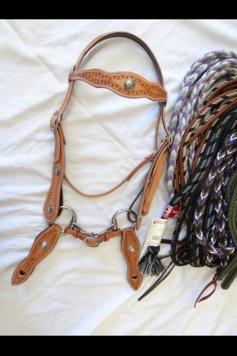 Carlos Border Double Scalloped Bridle