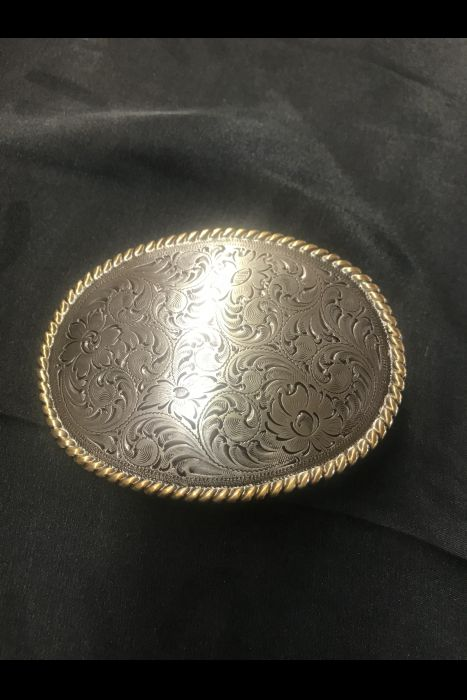 Engraved Buckle (Oval)