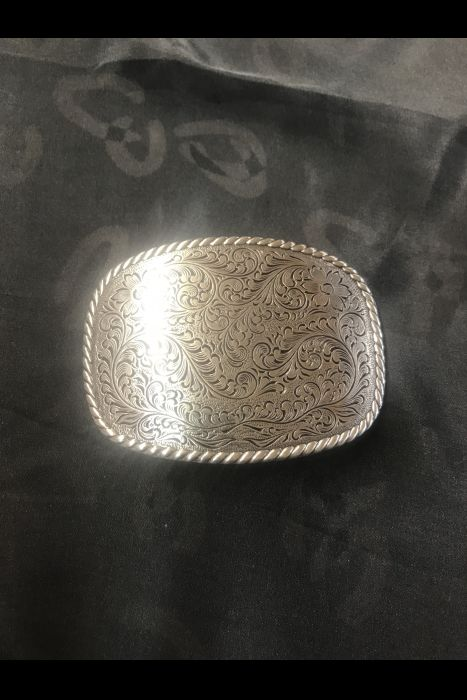 Engraved Buckle (Semi Square)