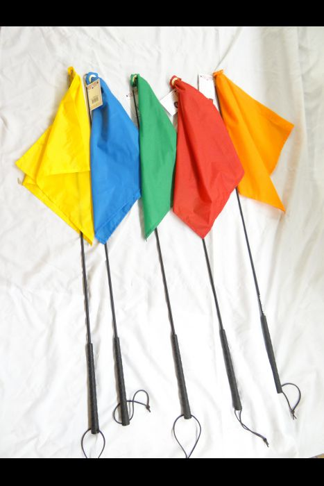Buck Brannaman Carbon Training Flags