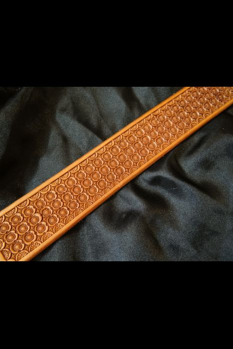 Geometric Stamped Belt | Another View