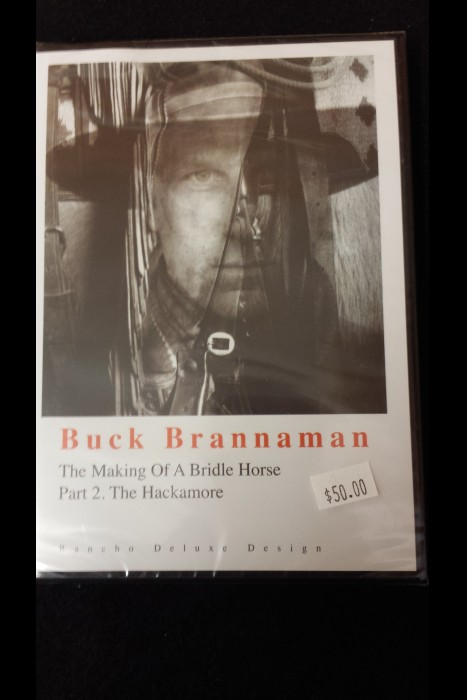"""The Making Of A Bridle Horse; Part 2. The Hackamore"" Buck Brannaman DVD"