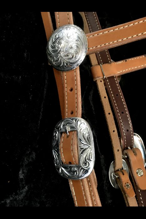 Brow-Band Bridle with Silver. | Another View