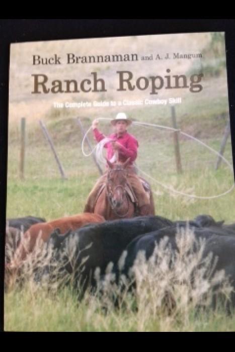 """Ranch Roping"" Buck Brannaman Book"