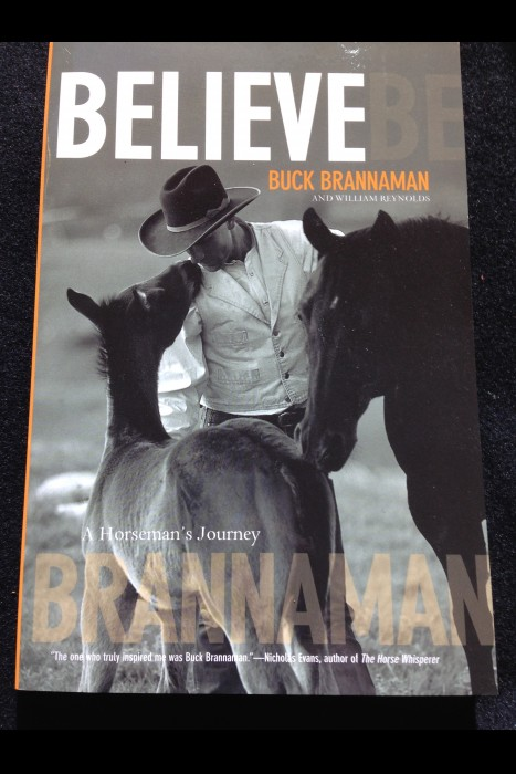 """Believe"" Buck Brannaman Book"