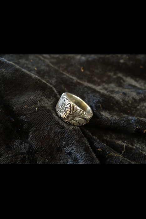 Silver Engraved Ring #2 | Another View