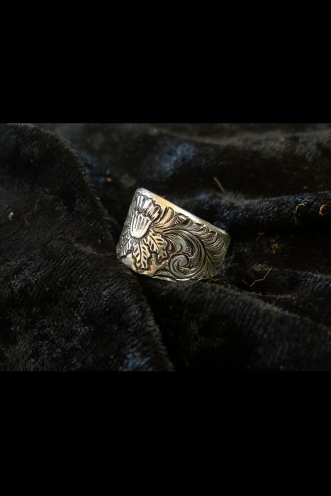 Silver Engraved Ring #3 | Another View