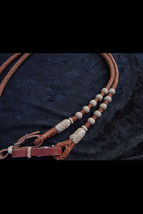 Braided Rope Reins | Another View