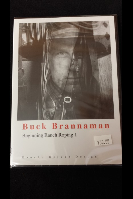 """Beginning Ranch Roping 1"" Buck Brannaman DVD"